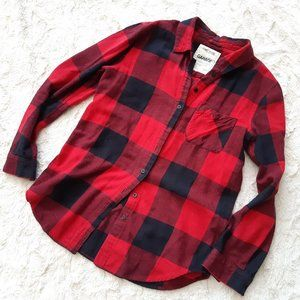 garage buffalo plaid shirt